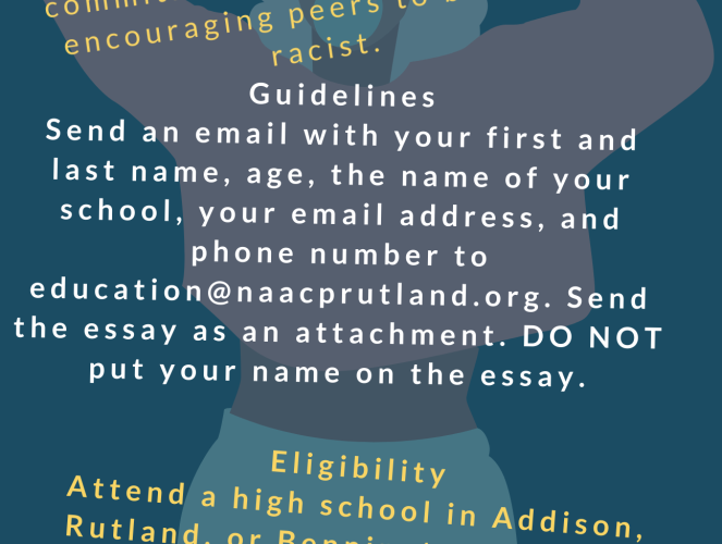 Instructions for entering Black history month essay contest